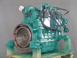 Recondition of diesel engine Volvo D7D –