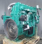 Recondition of engine Volvo TD122