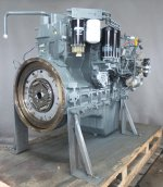 Recondition of engine Liebherr D926 TI-E