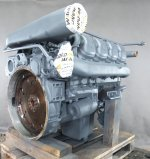 Recondition of engine Mercedes OM 422