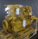 Recondition of engine Caterpillar C6.6