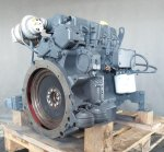 Recondition of engine Deutz BF4M2012